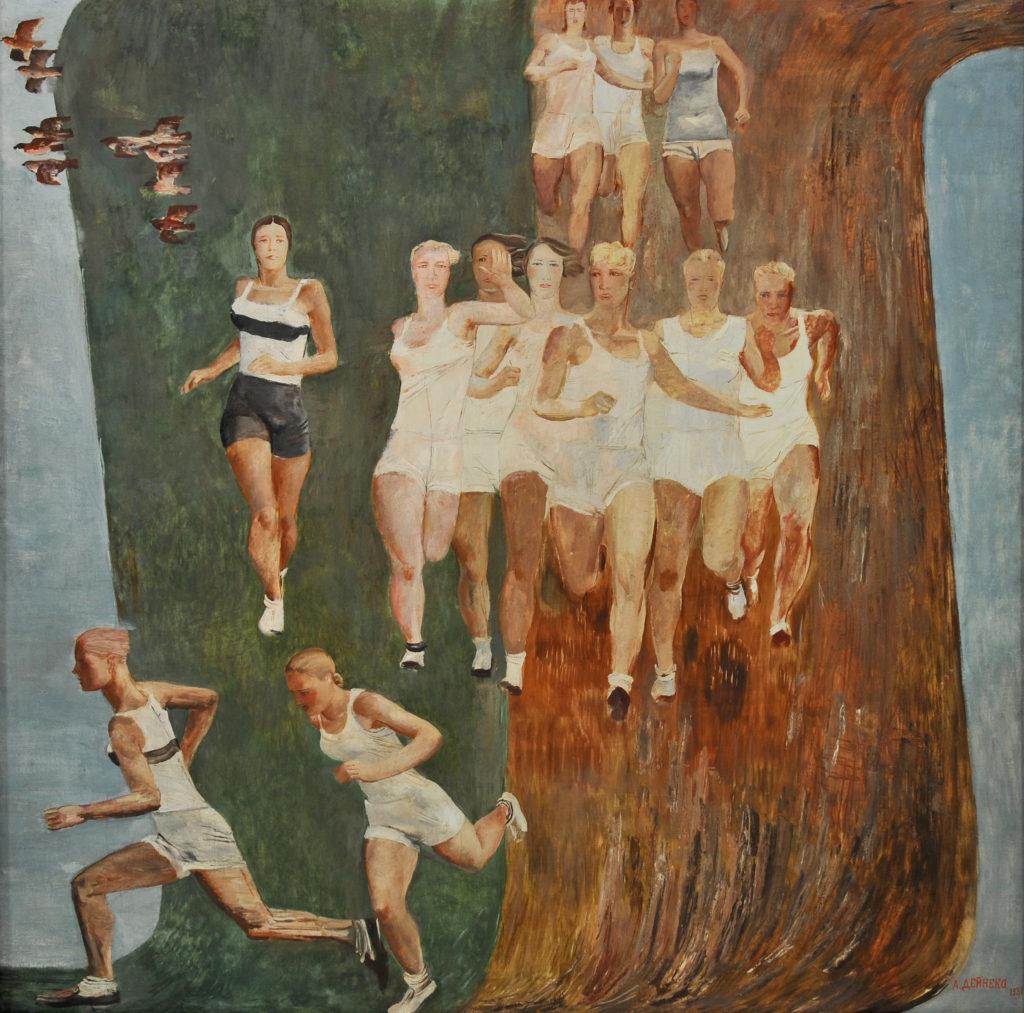 Aleksandr-Deineka-Corsa-campestre-femminile-1931-1024x1013