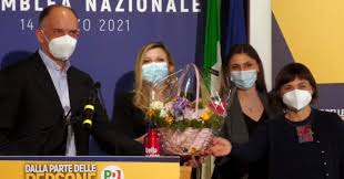 """Enrico Letta e il """"problema delle donne"""""""